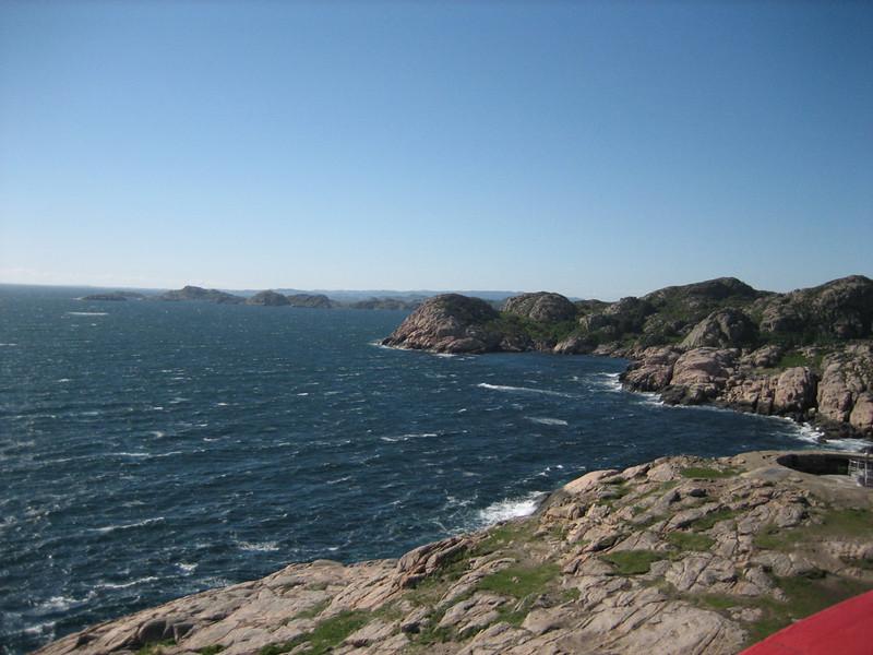 Furious winds around the coast