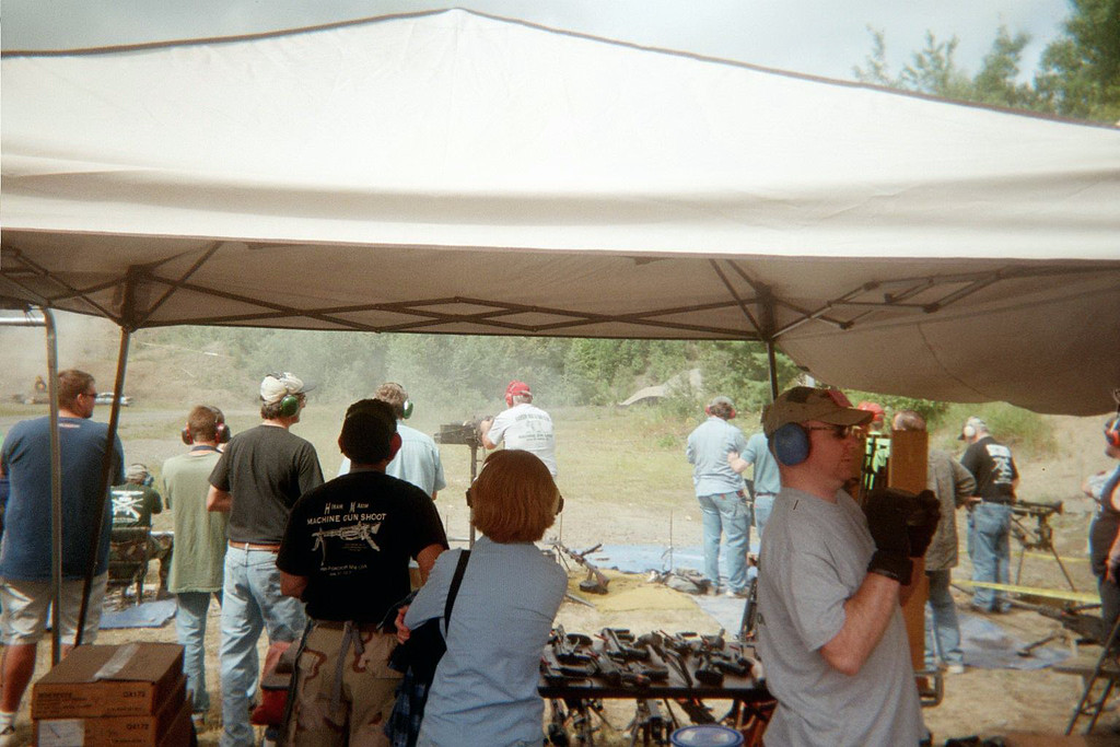 Dove Foxcroft machine gun shoot 02