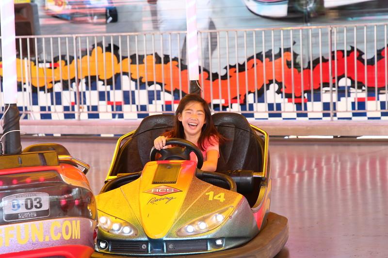 Having fun at the Orange County Fair on July 29, 2018