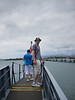 On the bridge going to the USS Bowfin at Pearl Harbor Visitor Center