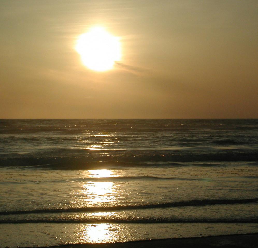 Ocean Shores Sunset 1