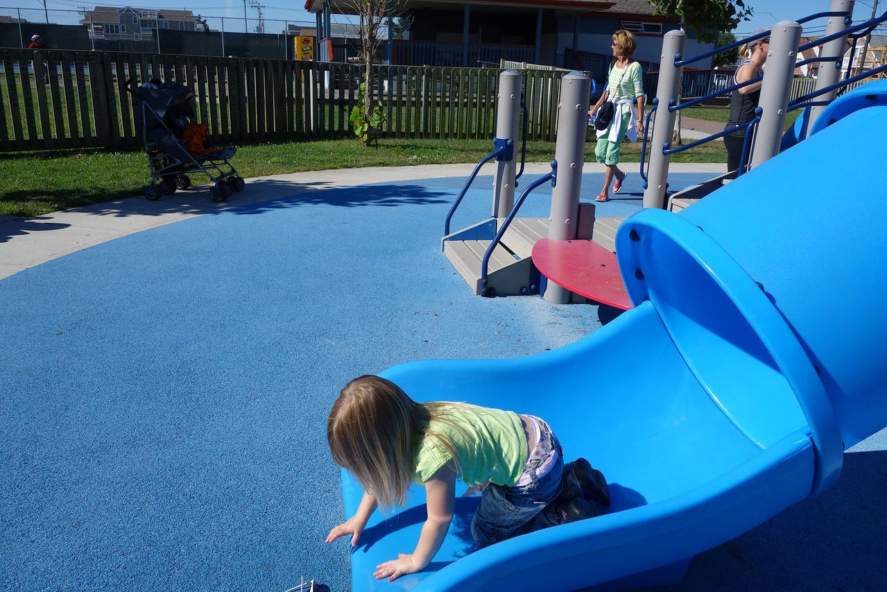 Katrina - end of slide