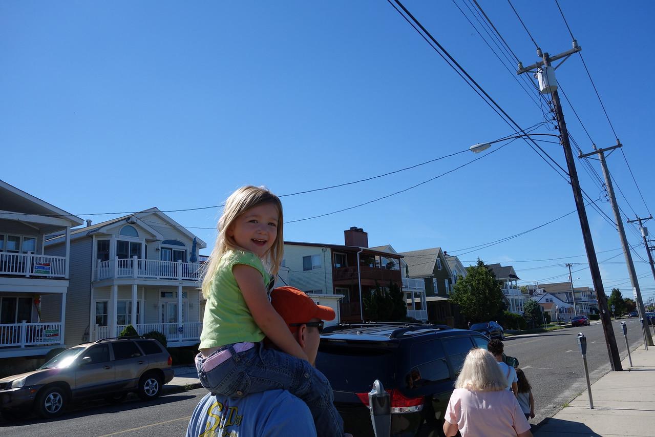 Katrina getting a ride back
