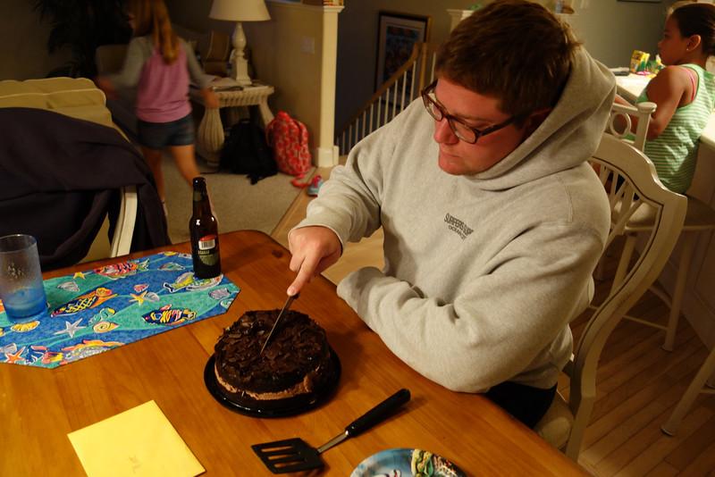 Matt celebrating his 32nd birthday