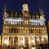 A glance at the Grand Place at night