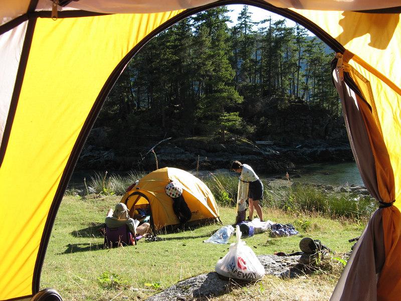 Bright tents