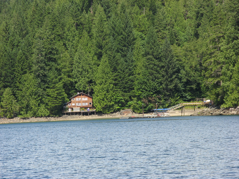 Lodge and dock