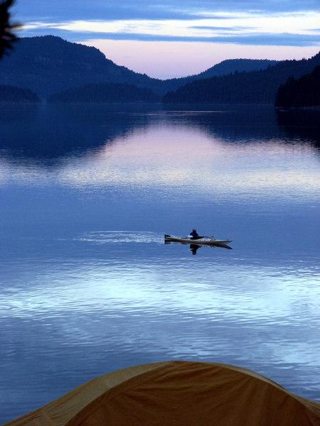 Will paddle at night