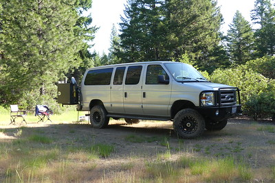 Offroading in Mendocino National Forest, May 2017