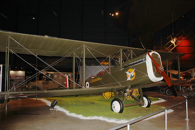 March 21, 2013 - (Wright-Patterson Air Force Base [National Museum of the United States Air Force] / Dayton, Montgomery County, Ohio) -- World War I (1918) DeHavilland DH-4