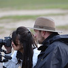 Wim (photography instructor) and Therese