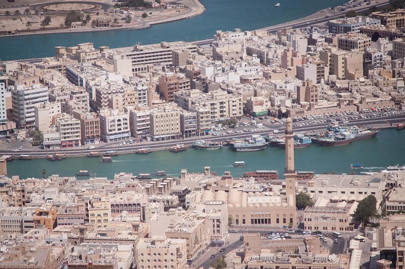 Deira and Bur Dubai