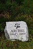 Archie the Bermuda Dog<br /> He loved his cottage at Ompah Ontario.<br /> Died in Bermuda, was frozen solid, flown to Ompah.<br /> Rest In Peace Archie.