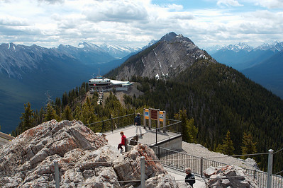 Top of Sulphur Mountain