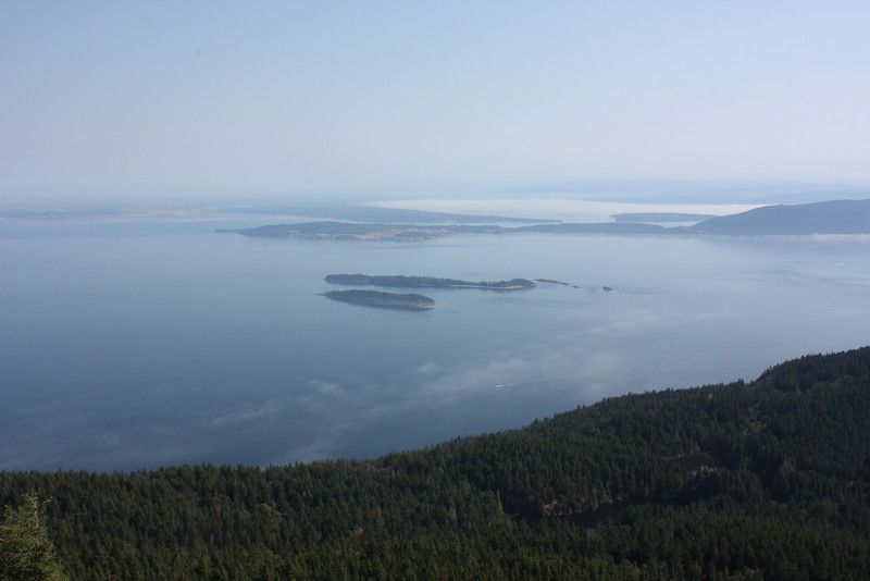 From the top of Mt. Constitution.