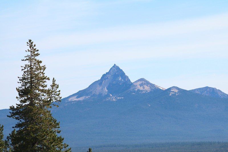 Mount Thielsen viewed from Crater Lake NP