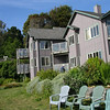 Turtle Rocks Inn structure itself is more like a townhouse than the typical B&B.