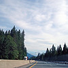 Interstate 5 headiing north. That's Mt Shasta straight ahead!