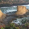 Beach below Inn at Arch Rock @ Depoe Bay