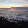 Sunset over Pacific Ocean @ Depoe Bay