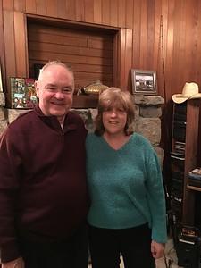 David & Judy @ Judy's & Joe's House