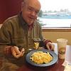 David Eating Mac & Tillamook Cheese @ Tillamook Cheese Factory