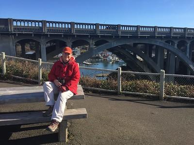 MaryAnne @ Depoe Bay Bridge