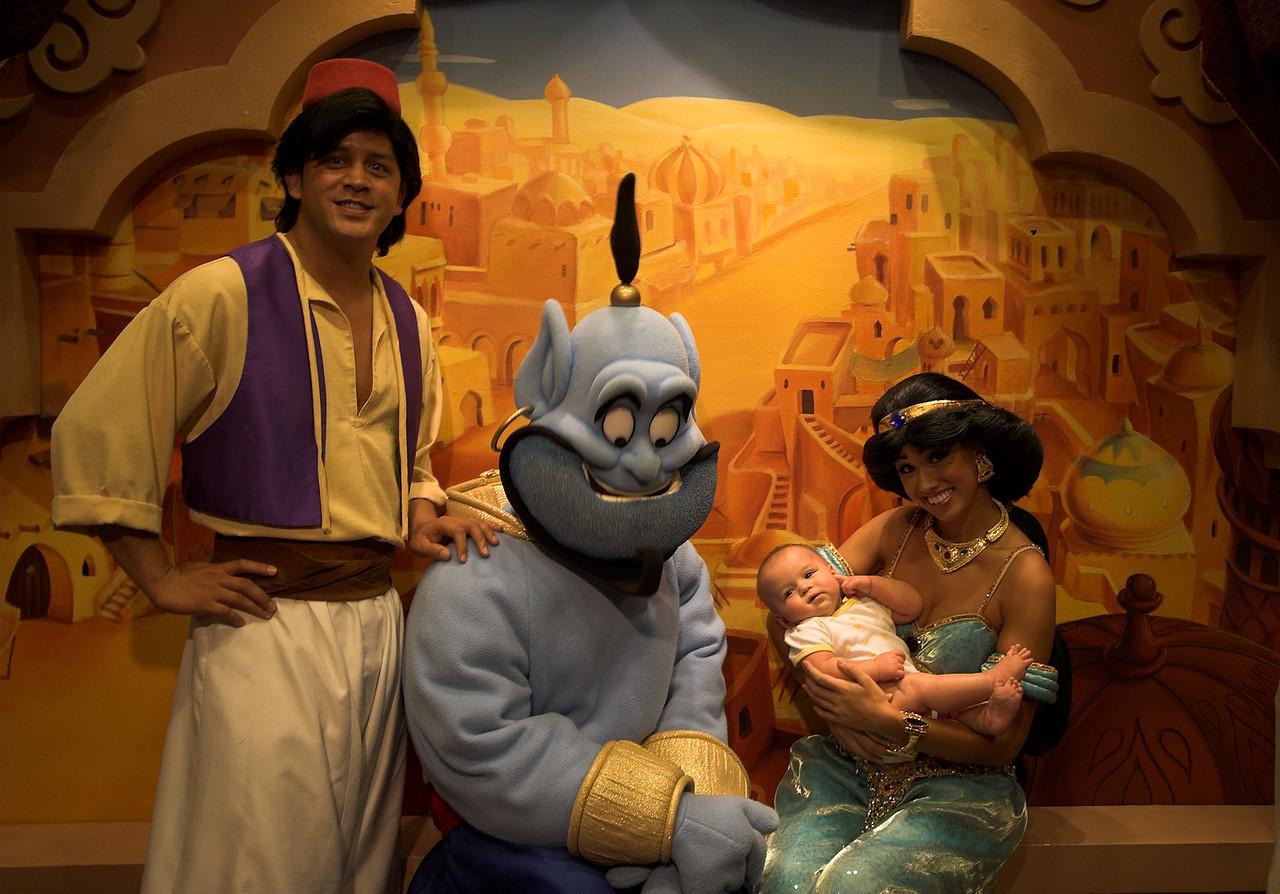 Hey look, Jasmine and Aladdin had a baby, oh wait...