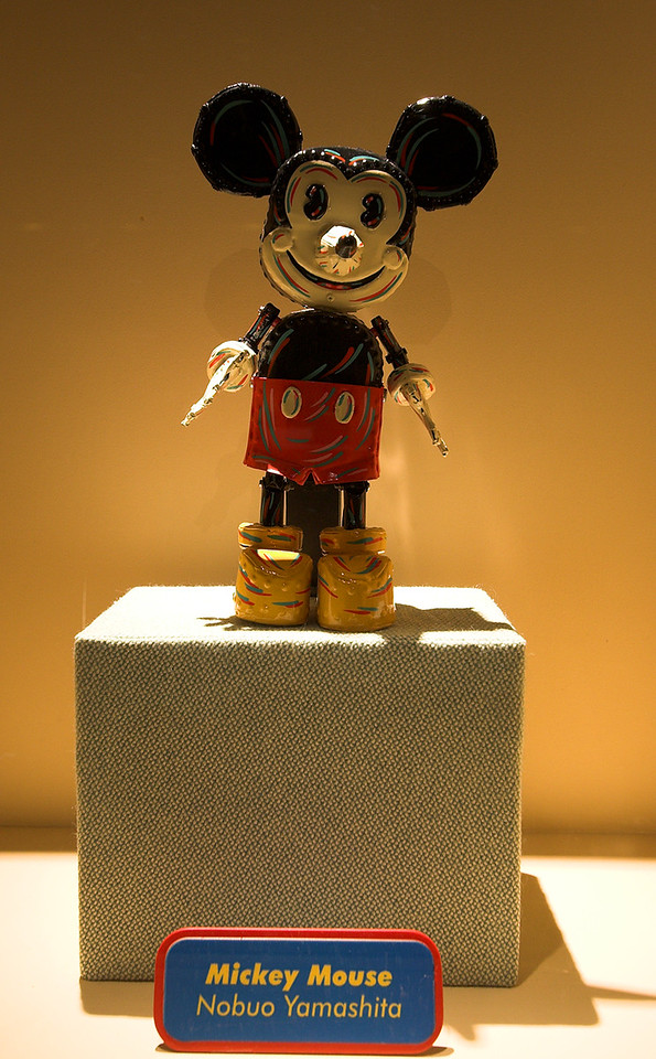 Yes, Mickey Mouse as only the Japenese could have (re)imagined him. Neat tin toy.