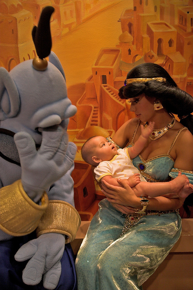 Even the Genie's embarassed ;)
