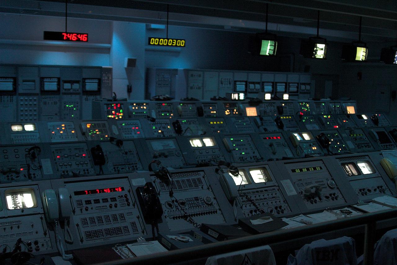 Actual Apollo 8 mission control consoles