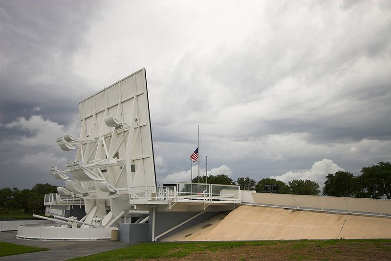 Space Mirror Memorial (rear)