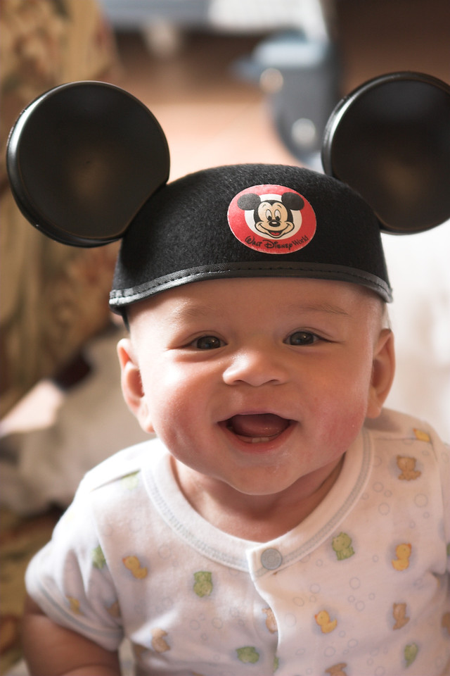 Happy Mouseketeer