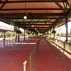 Bus terminal at Disney World Magic Kingdom
