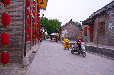 Locals in Hutong Streets
