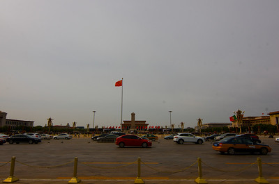 Tianamen Square - site of Student and Tank