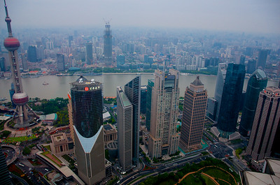 Shanghai from Xinmao tower