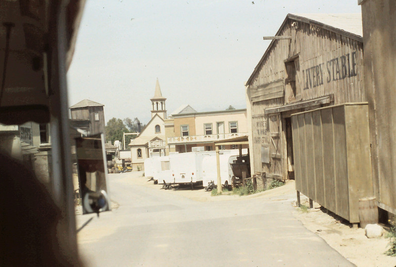 "This is a Western Set, supposedly used for ""Gunsmoke""."