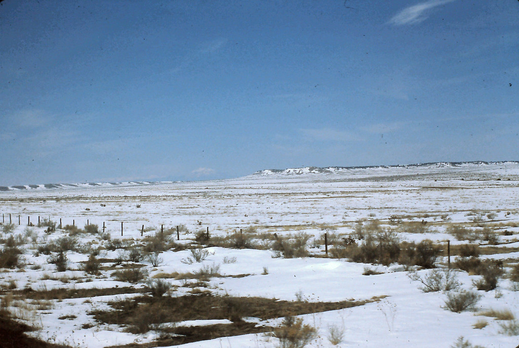 The Plains were dusted mostly, with little accumulation of snow, but it did make for a beautiful landscape.