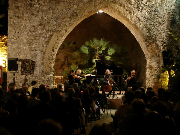The Concert in Rovello fort.