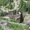 Dam on road out of Engineer Pass near Lake City, CO on 08/01/11