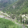 Mining Village above dam on road out of Engineer Pass near Lake City, CO on 08/01/11