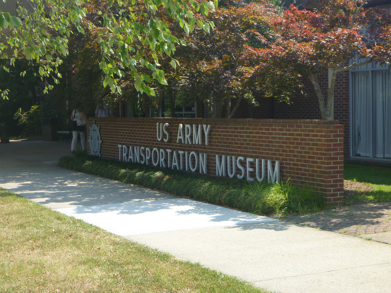 On our way from the Outer Banks up to Washington, D.C., we stopped at the US Army Transportation Museum at Fort Eustis in Virginia.  It was more interesting than I'd expected, and there were far more visitors than I'd anticipated!