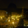 The view from our hotel room at the Washington Plaza on Thomas Circle