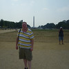 Dave with the Washington Monument . . . which you can see from lots and lots of places in Washington, D.C.