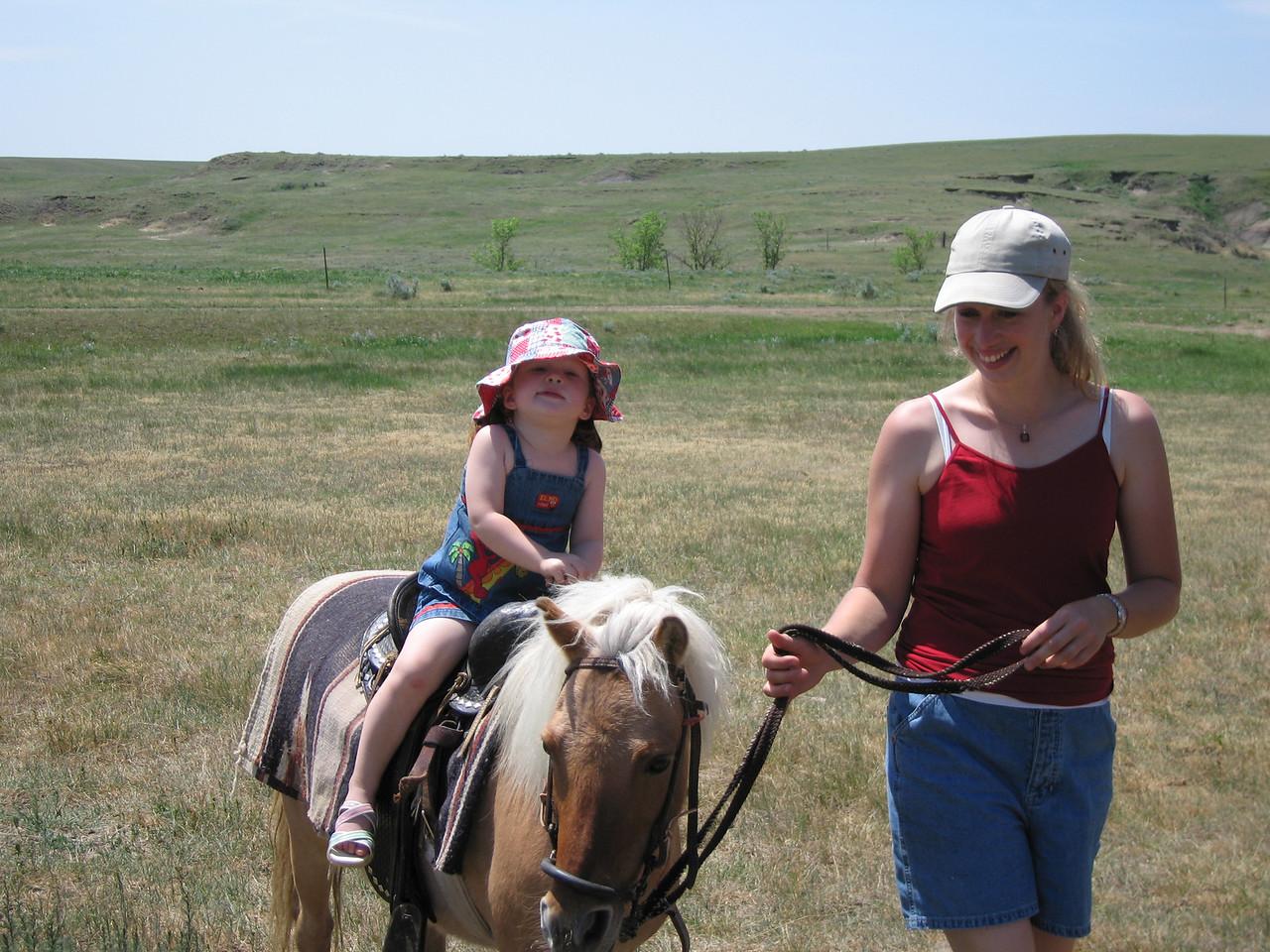 """I'm a cowgirl"""