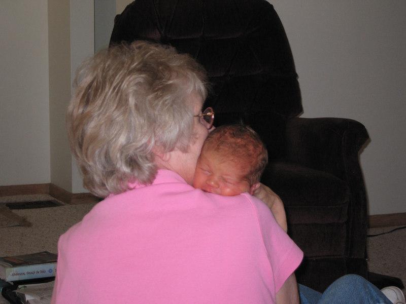 Owen meets Grandma Margie