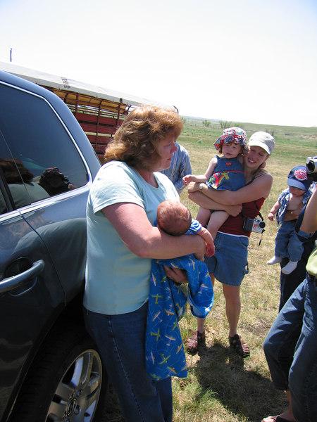 Owen meets Grandma JoAnne