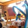 Tante + niese + babygym + rullestol