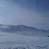 Retning vestover fra toppen av Valdresflya, onsdag før påske.